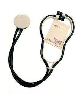 picaresque estetoscopio medic negro