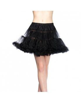 leg avenue petticoat negra