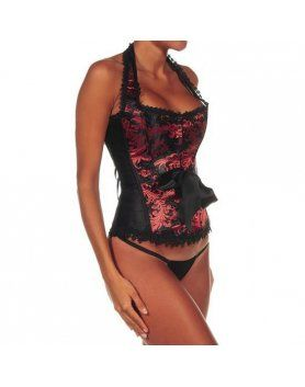 intimax corset sensuality rojo