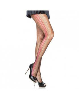 leg avenue panties de red con rayas laterales contrastadas