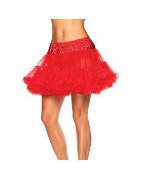 leg avenue petticoat roja