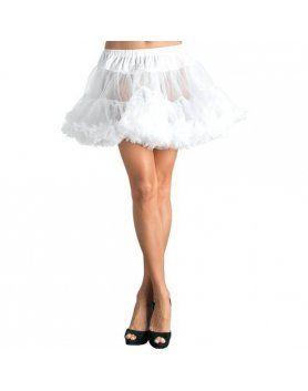 leg avenue petticoat blanca básica