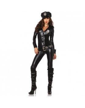 leg avenue disfraz femenino oficial de policía