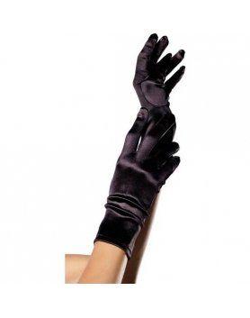 leg avenue guantes saten negro