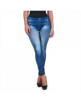 intimax legging satinado blue