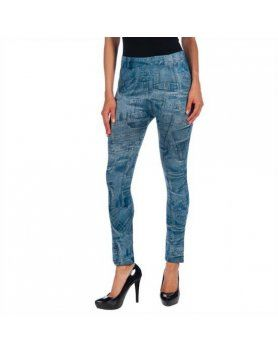 intimax legging bolsillo blue