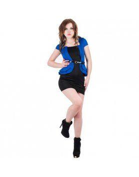 purpura concept vestido gala azul