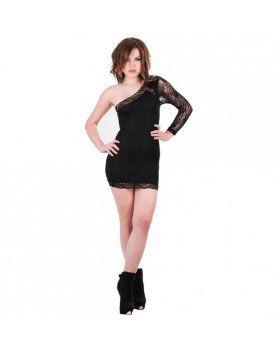 purpura concept vestido hera negro