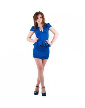 purpura concept vestido parla azul