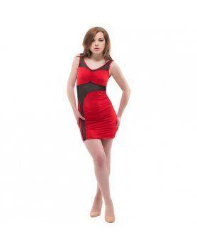 purpura concept vestido amantea rojo