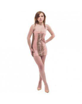 purpura concept vestido padova rosa