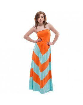 purpura concept vestido corato naranja