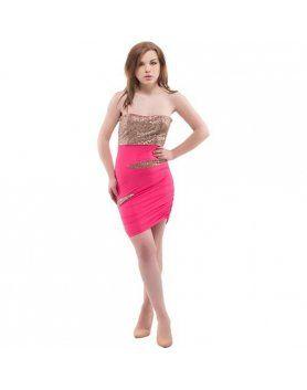purpura concept vestido volga rosa