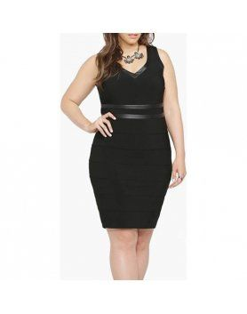 vestido tirantes escote redondo negro