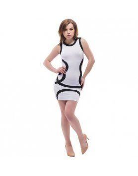 purpura concept vestido witten blanco