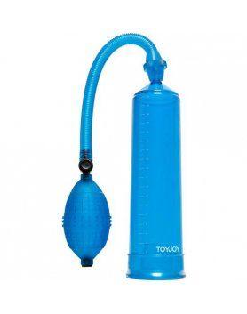 power pump bomba succión azul