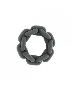 sono n 5 anillo para el pene con cadena gris