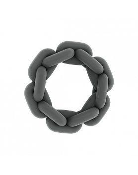 sono n 4 anillo para el pene con cadena gris