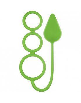 anillos medianos circus neon verde