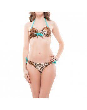 bikini jania leopardo