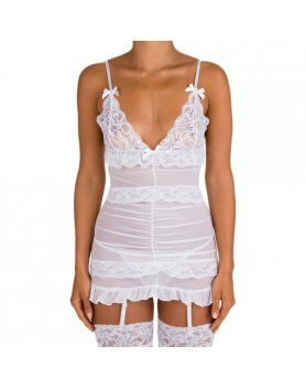 INTIMAX BODY SEMI TRANSPARENTE BLANCO