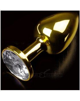 PLUG ANAL JEWELLERY SMALL ORO DIAMANTE