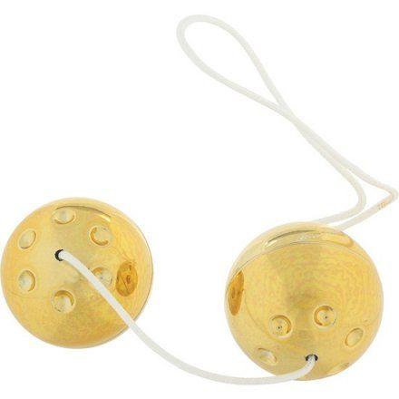 GOLD METAL BOLAS ESTIMULADORAS - 2uds para mujeres principiantes