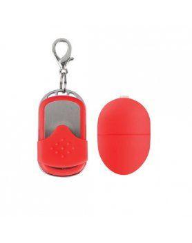 huevo vibrador 10 velocidades control remoto rojo pequeño