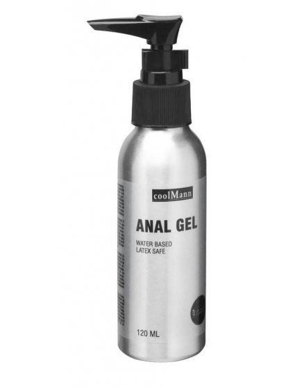 COOLMANN LUBRICANTE ANAL 120 ML VIBRASHOP