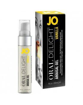 jo gel excitador de placer oral vainilla 30 ml VIBRASHOP