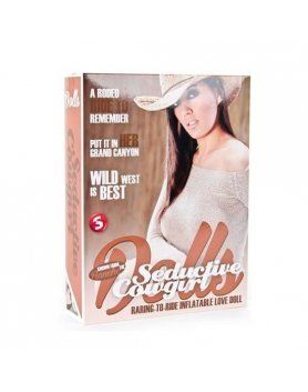 seductive cowgirl muñeca hinchable VIBRASHOP