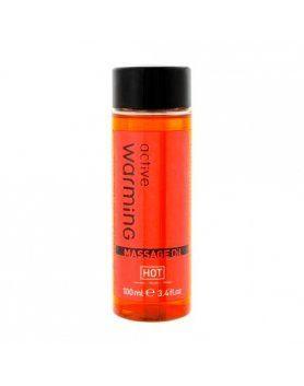 active aceite de masaje calor 100 ml VIBRASHOP