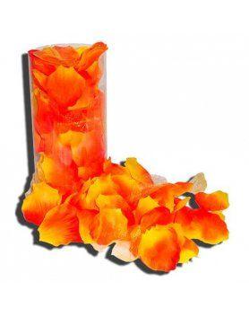 petalos de rosa naranja VIBRASHOP
