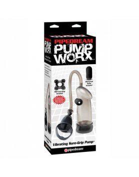 DESARROLLADOR DE PENE PUMP WORX - VIBRATING SURE-GRIP PUMP VIBRASHOP