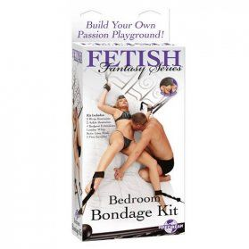 ATADURAS BONDAGE CAMA FETISH FANTASY SERIES VIBRASHOP