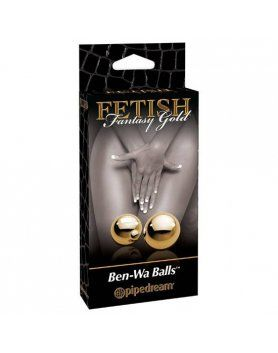 BOLAS CHINAS ORO FETISH FANTASY GOLD VIBRASHOP