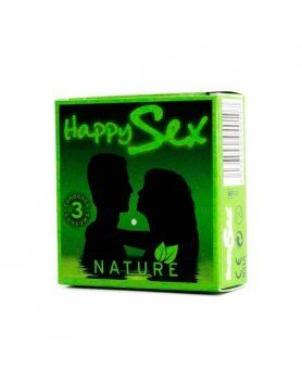 PRESERVATIVOS NATURAL HAPPY SEX VIBRASHOP