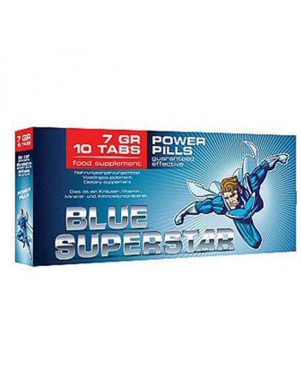 blue superstar 10 capsulas VIBRASHOP