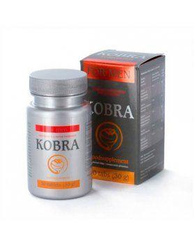 kobra para hombre 30 comprimidos VIBRASHOP