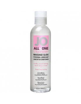 ACEITES Y LUBRICANTES SEXUALES FRESA ALL IN ONE