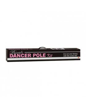 KIT BARRA POLE DANCE PLATA TLC VIBRASHOP
