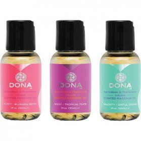 ACEITE MASAJES SET TOUCH YOU DONA VIBRASHOP