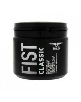 mister b fist lubricante silicona clasico 500 ml VIBRASHOP