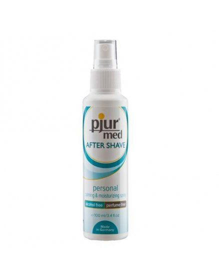 pjur med spray para despues de la depilacion 100 ml VIBRASHOP