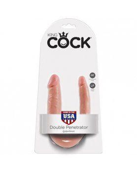 king cock pene realistico doble small VIBRASHOP