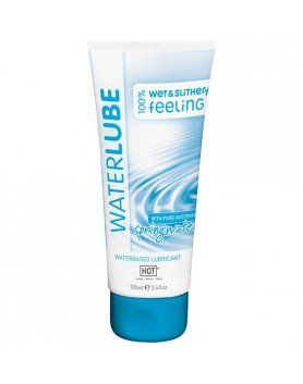 hot nature lubricante base de agua 100 ml VIBRASHOP