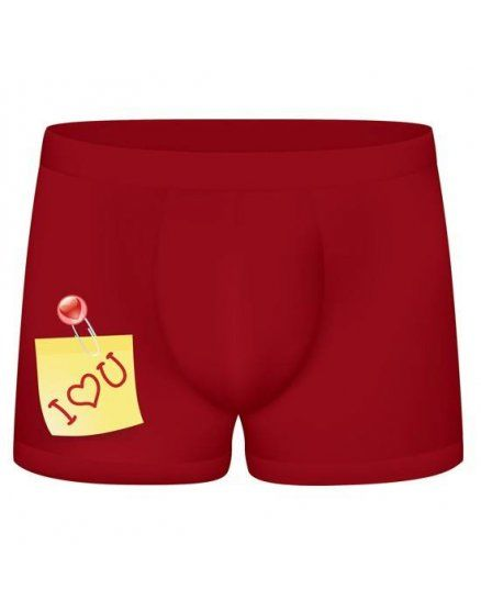 funny boxers i love you granate VIBRASHOP