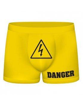 funny boxers danger amarillo VIBRASHOP