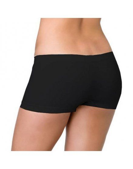 leg avenue braguita short de color negro VIBRASHOP