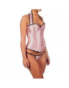 intimax corset nornas rosa VIBRASHOP